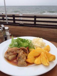 Парщуко аусис - деликатес с видом на море